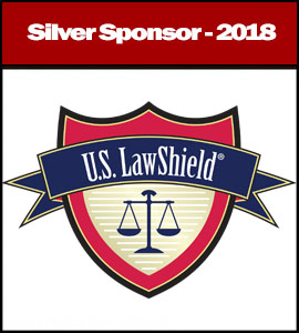 US Law Shield Silver 2018